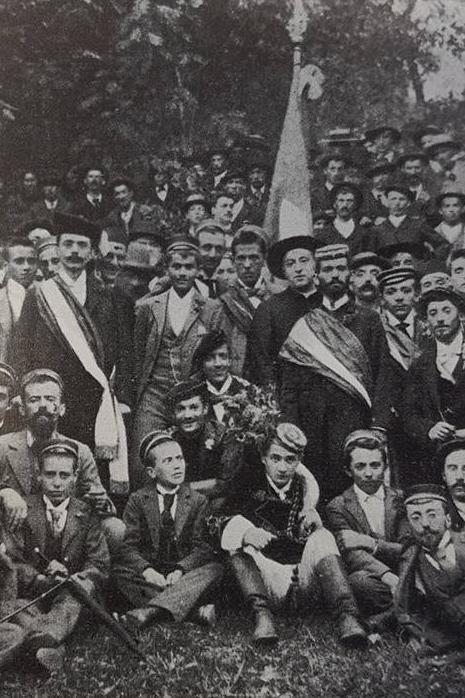 La Lepontia alla Festa estiva del 1898 a Morbio.